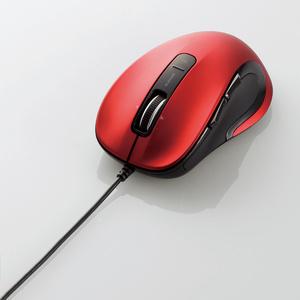 有線レーザーマウス(5ボタン・チルトホイール)(M-LS15ULRD)