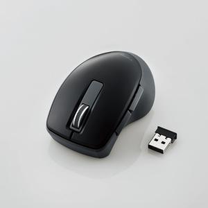 """ワイヤレス静音5ボタンBlueLEDマウス""""TIPS AIR""""(M-TP20DBSBK)"""