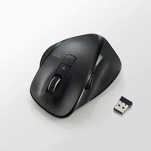5ボタンワイヤレスBlueLEDマウス「EX-G」(M-XG2DBBK)