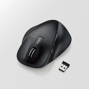 Silent EX-G wireless BlueLED mouse large size (M-XGL10DBSBK)