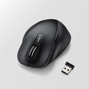 EX-G ワイヤレスBlueLEDマウス Mサイズ(M-XGM10DBBK)