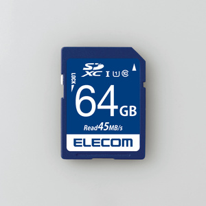 データ復旧SDXCカード(UHS-I U1)(MF-FS064GU11R)