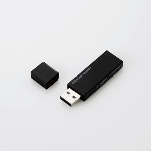 キャップ式USBメモリ(ブラック)8GB(MF-MSU2B08GBK)
