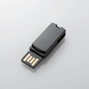 回転式USB2.0メモリ(MF-RSU204GBK)