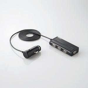 4ポート USB車載充電器(シガーチャージャー)