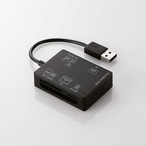 56+2メディア対応メモリリーダライタ(MR-A012BK)