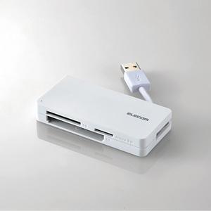 USB3.0対応メモリカードリーダ(ケーブル収納タイプ)(MR3-K012WH)