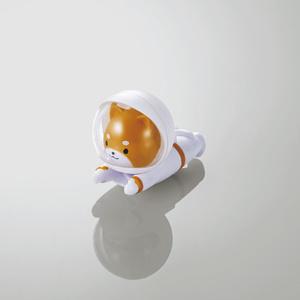 Cable figure skating /SPACE ANIMAL (dog) (P-APLTDSPDOG)