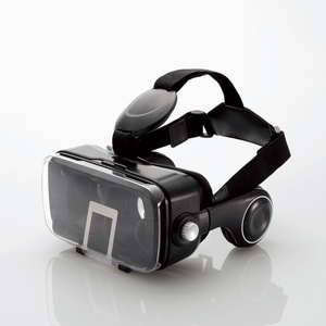 VRグラス(ヘッドホン一体型タイプ)(P-VRGEH01BK)