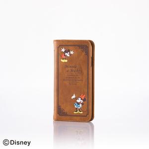 iPhone 6用ソフトレザーカバー(ディズニー)(PM-A14PLFDNY01)