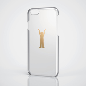 iPhone 6用シェルカバー/ゴールド