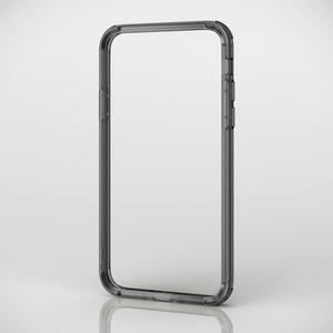 iPhone X用ハイブリッドバンパー(PM-A17XHVBBK)