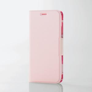 iPhone X用ソフトレザーカバー/薄型/女子向/磁石付(PM-A17XPLFUJPNL)