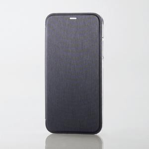 iPhone X用シェルカバー/フラップ(PM-A17XPVFBK)