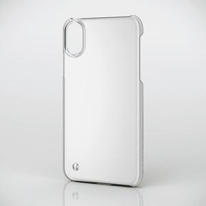 iPhone X用シェルカバー/ストラップホール付(PM-A17XPVSTCR)