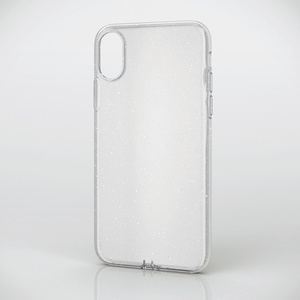 iPhone X用ソフトケース/極み/ラメ入り(PM-A17XUCTBCR)