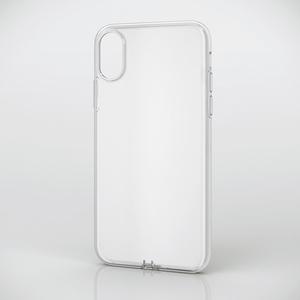 iPhone X用ソフトケース/極み(PM-A17XUCTCR)