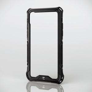 iPhone X用ZEROSHOCK/バンパー(PM-A17XZEROBBK)