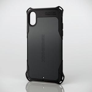 iPhone X用ZEROSHOCK/スタンダード(PM-A17XZEROBK)