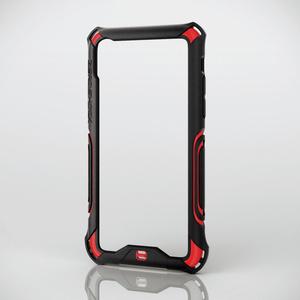 iPhone X用ZEROSHOCK/バンパー(PM-A17XZEROBRD)