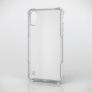 iPhone X用ZEROSHOCK/スタンダード/インビジブル(PM-A17XZEROTCR)