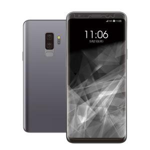 Galaxy S9+用フルカバーフィルム/衝撃吸収/透明/光沢(PM-GS9PFLFPRG)
