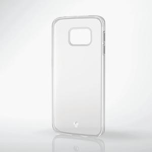Galaxy S6 edge用TPUソフトケース(PM-SCG6EUCTCR)
