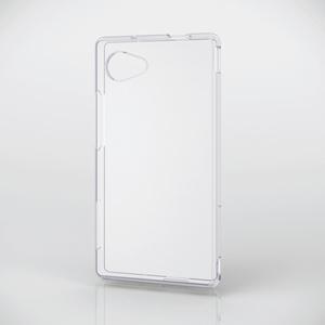 AQUOS Compact用 ソフトケース/極み(PM-SH02HUCTCR)