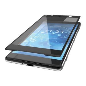 Xperia XZ2 Premium用フルカバーフィルム/反射防止/防指紋(PM-XZ2PFLFRBK)