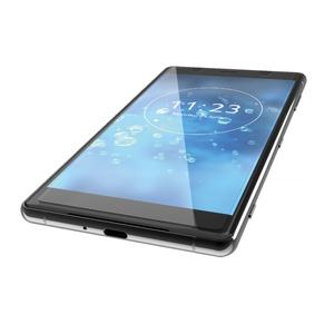Xperia XZ2 Premium用ガラスライクフィルム/BLカット/薄型(PM-XZ2PFLGLBL)