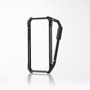 Aluminum carabiner bumper for iPhone5s/5