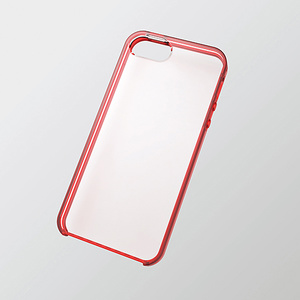 Soft bumper case (red) for PS-A12UBC series iPhone 5