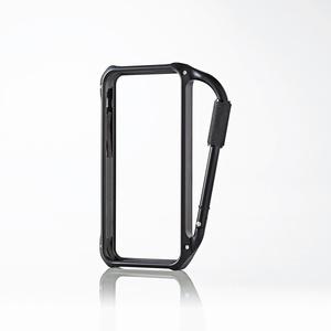 Aluminum carabiner bumper for iPhone5c