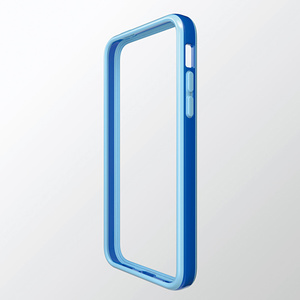Hybrid bumper for iPhone 5c