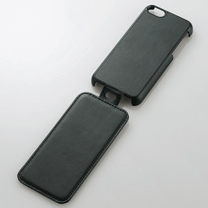 Soft leather cover for iPhone 5c (vertical opening flap)