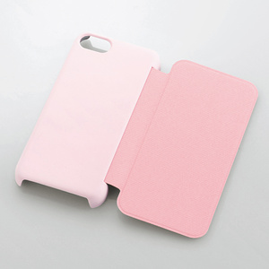 Shell cover for iPhone 5c (flap-attached)