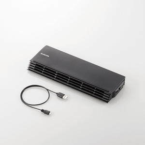 ノートPC用クーラー(薄型コンパクトタイプ)(SX-CL20BK)