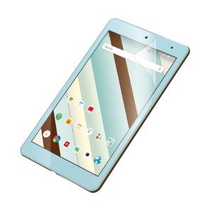 Qua tab QZ8用フィルム/防指紋/エアーレス/高精細/反射防止(TBA-KYH08FLFAHD)