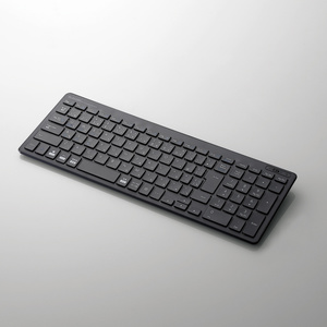 Bluetooth薄型コンパクトキーボード(TK-FBP101BK)