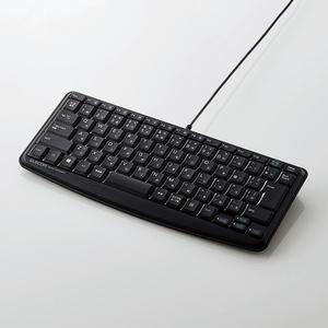 有線静音ミニキーボード(TK-FCM089SBK)