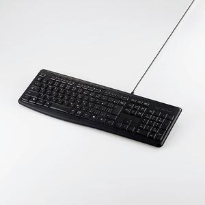 有線静音フルキーボード(TK-FCM090SBK)
