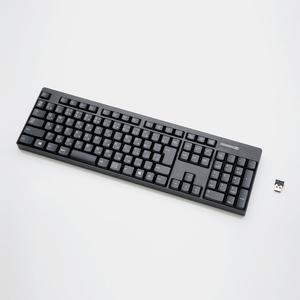 2.4GHzワイヤレスフルキーボード(TK-FDM087TBK)