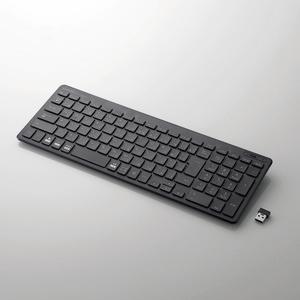 無線薄型コンパクトキーボード(TK-FDP099TBK)