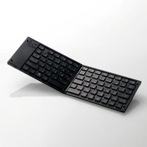 ワイヤレスBluetooth(R)キーボード(TK-FLP01BK)