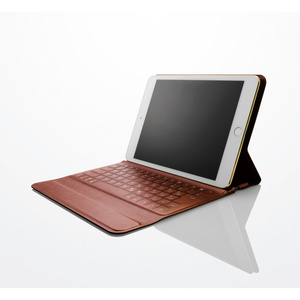 Italian soft leather Bluetooth (R) keyboard (TK-RC10IBK)