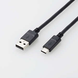 USB2.0ケーブル(認証品、A-C)(U2C-AC40NBK)