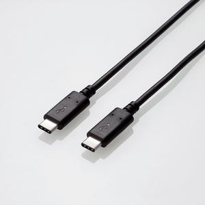 USB2.0ケーブル(認証品、C-C)(U2C-CC15NBK)