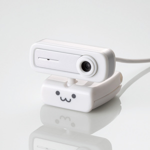 内蔵マイクタイプ200万画素Webカメラ(UCAM-C0220FBNWH)