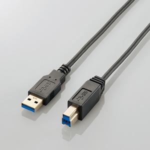 極細USB3.0ケーブル(A-B)(USB3-ABX10BK)