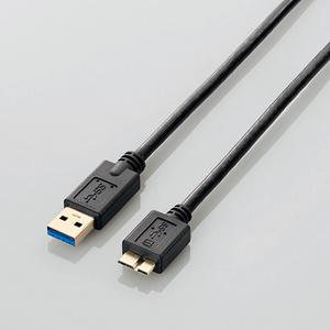 USB3.0ケーブル(A-microB)(USB3-AMB05BK)